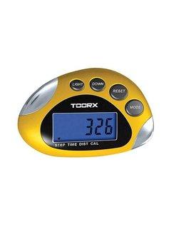 Toorx Fitness Stappenteller - Multifunctioneel - Professioneel inzetbaar - met LCD scherm
