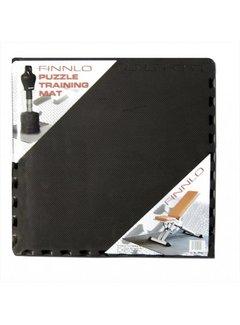 Finnlo by Hammer PUZZELMAT (6-delig, 185 x 120 x 1,2cm), zwart