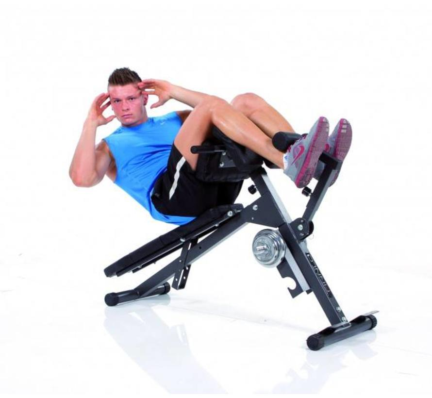 AB & BACK TRAINER - hyperextension - ab bench - preacher curl bench