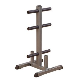 Body-Solid Body Solid Olympic Plate Tree & Bar Holder