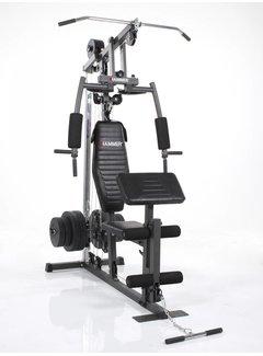 Hammer Fitness CALIFORNIA XP gym - incl. 60 kg gewichten
