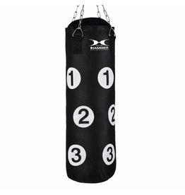 Hammer Boxing Hammer Boxing Punching bag Sparring met nummers, black, 80x30 cm