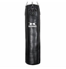 Hammer Boxing Hammer Bokszak Professional Leder Zwart, 100x35 cm