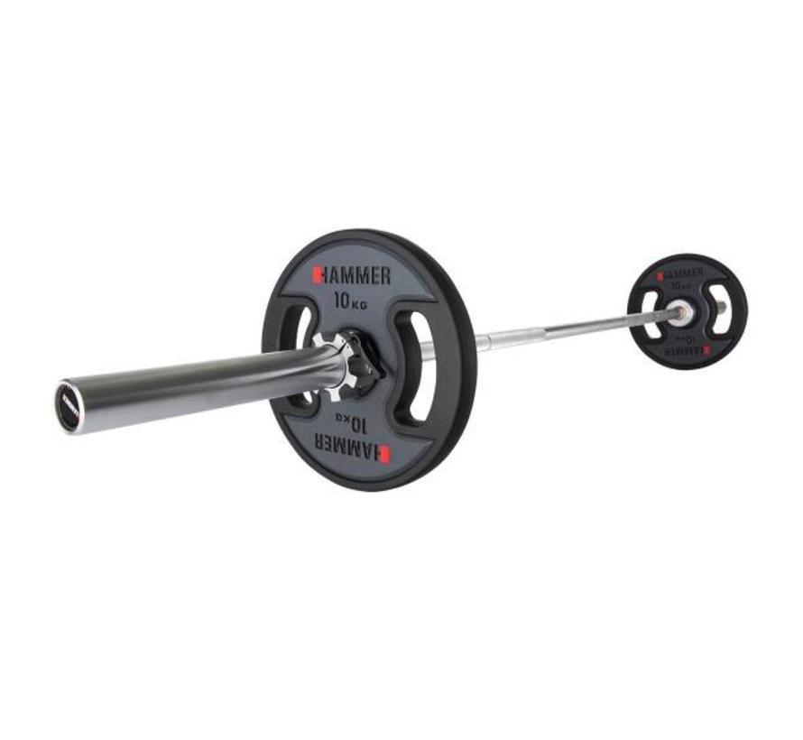 Hammer - Olympische Halterstang 222 cm - max 700 kg
