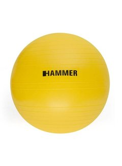 Hammer Fitness Fitnessbal - Ø 55 cm - Geel