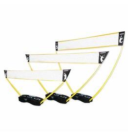 Hammer Fitness Hammer 3-in-1 set voor volleybal, badminton en tennis