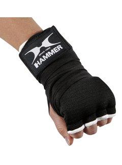 Hammer Boxing BINNENHANDSCHOEN Elastic Fit - zwart