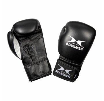 Hammer Boxing Hammer Boxing Bokshandschoenen PREMIUM FITNESS - buffelleer - zwart