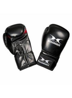Hammer Boxing Bokshandschoenen X-SHOCK - PU - Zwart/Rood