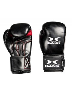 Hammer Boxing Bokshandschoenen X-Shock Lady - PU - Zwart/Rood