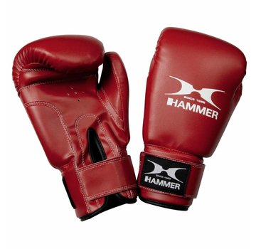 Hammer Boxing Hammer Boxing Boxing Gloves Fit - PU -  Black or Red