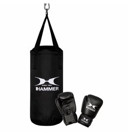 Hammer Boxing Hammer Boxing Set Junior, Nylon (inclusief 6OZ gloves)