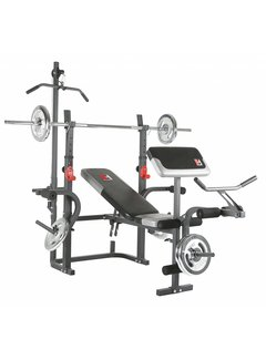 Hammer Fitness BERMUDA XT Pro (incl. lat pulldown + curlpult)