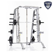 Tuff Stuff Tuff Stuff CSM-600 Basic Smith Machine/Half Cage Combo met Safety Stoppers