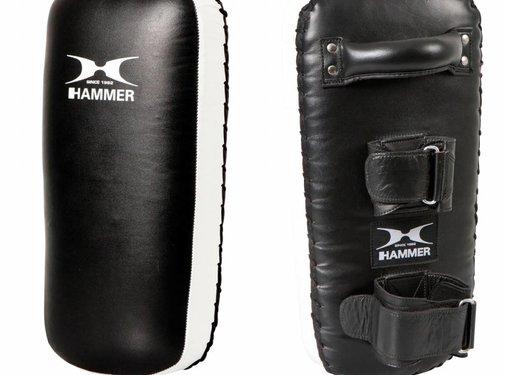 Hammer Boxing Hammer Boxing Thai Pad Stootkussen Zwart/Wit