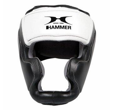 Hammer Boxing Hammer Boxing HOOFDBESCHERMER Sparring - leer - Zwart/Wit
