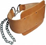 Body-Solid Body-Solid - Dipping Belt - Leer - Bruin