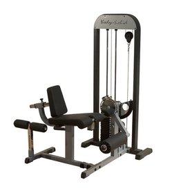 Body-Solid Body-Solid LEG EXTENSION & LEG CURL met 95 kg gewichtstapel