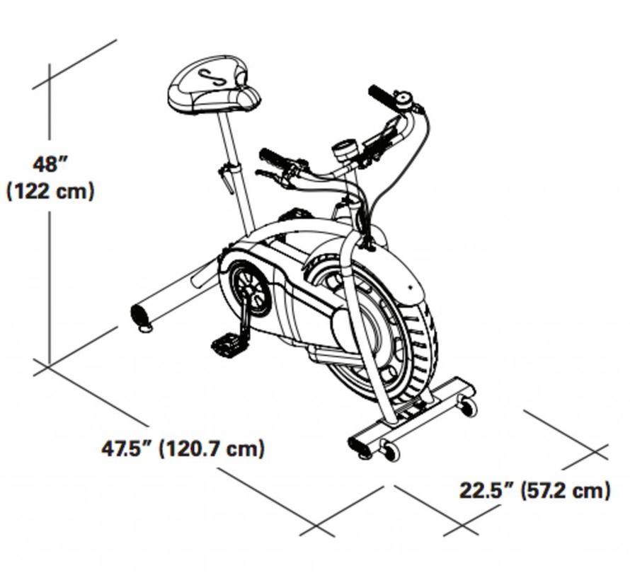 Schwinn Classic Cruiser Retro Bike - met Bluetooth en Zwift