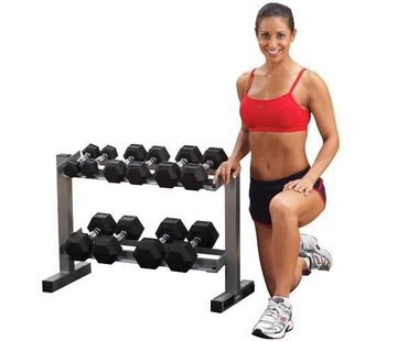 Powerline Powerline Dumbbell Rack - PDR282X - voor 6 paar dumbbells
