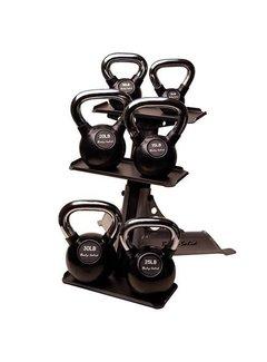 Body-Solid 3-Pair Kettlebell Rack GDKR50