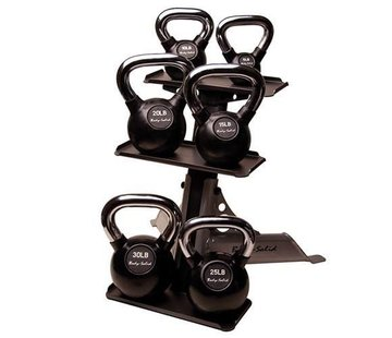 Body-Solid Body-Solid 3-Pair Kettlebell Rack GDKR50