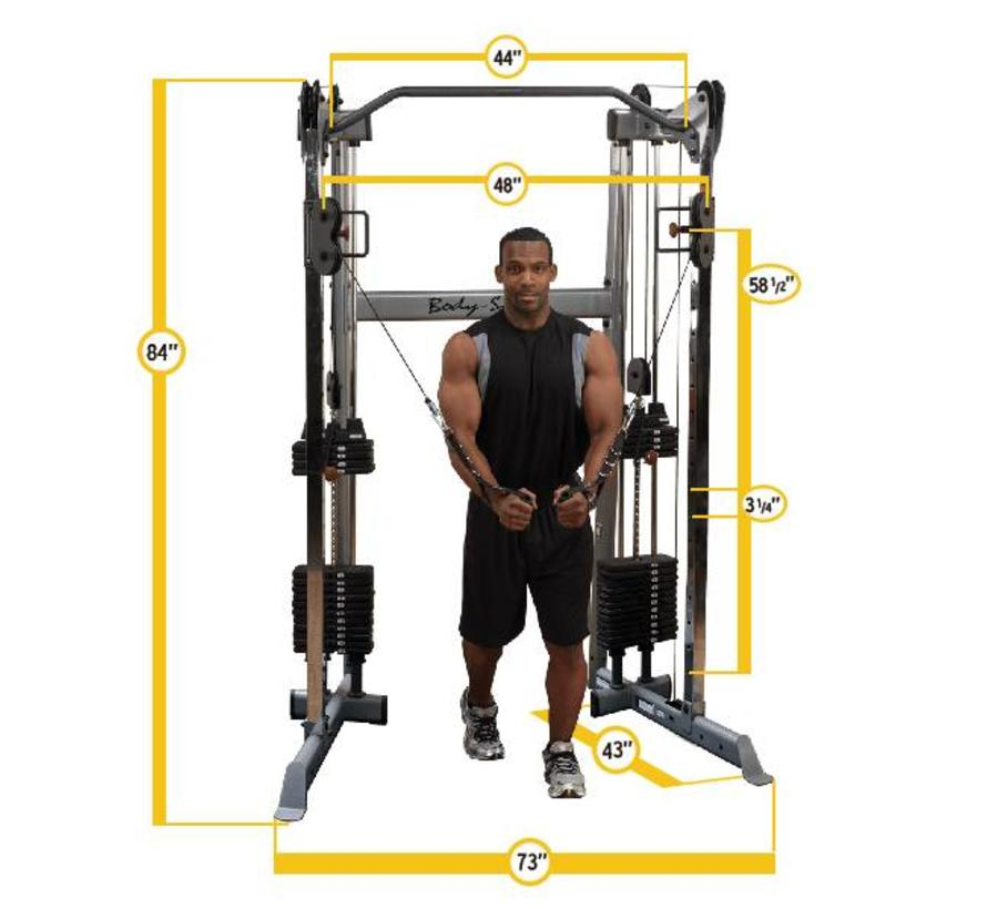 Body-Solid GDCC210 - Functional Trainer - Compact