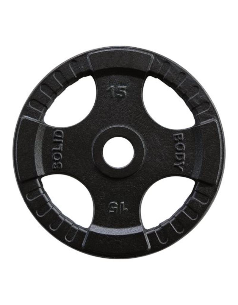 Uitgelezene Body-Solid 140 kg set olympische gewichten + stang + sluitveren PV-65