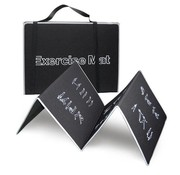 Body Trading BodyTrading MA150 - Fitnessmat - 180 cm x 60 cm - Zwart