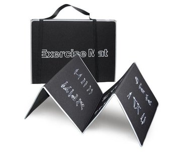 Body Trading MA150 - Fitnessmat - 180 cm x 60 cm - Zwart