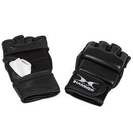 Hammer Boxing Hammer MMA, leer, zwart/wit, XL (open palm)