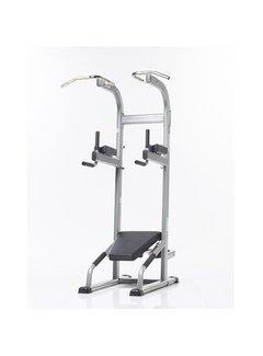 Tuff Stuff Chin/Dip/VKR/Ab Crunch/Push-up Training Tower