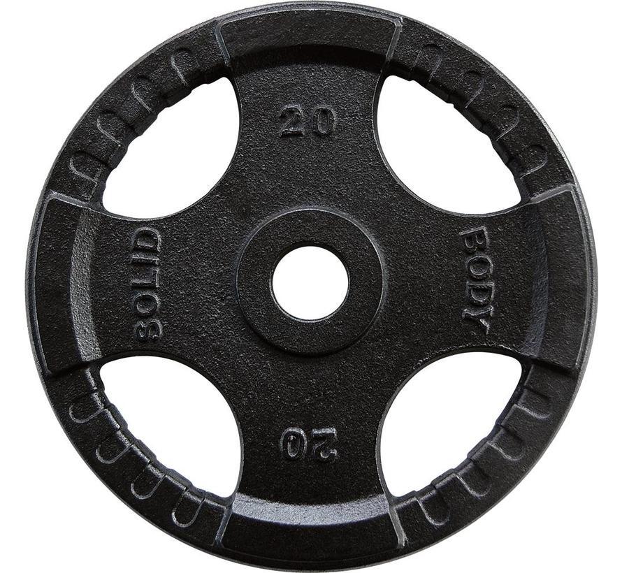 Body-Solid Olympische gietijzeren halterschijven 50 mm OPTK