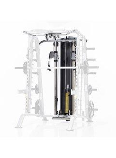 Tuff Stuff CHL-610WS High/Low pulley met 95 kg gewichtstapel voor CSM-600
