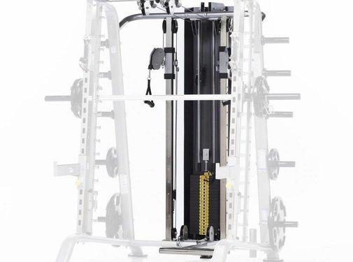 Tuff Stuff Tuff Stuff CHL-610WS High/Low pulley met 95 kg gewichtstapel voor CSM-600