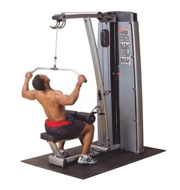 Pro Dual Body-Solid Pro Dual Lat and Mid Row Machine DLAT-SF