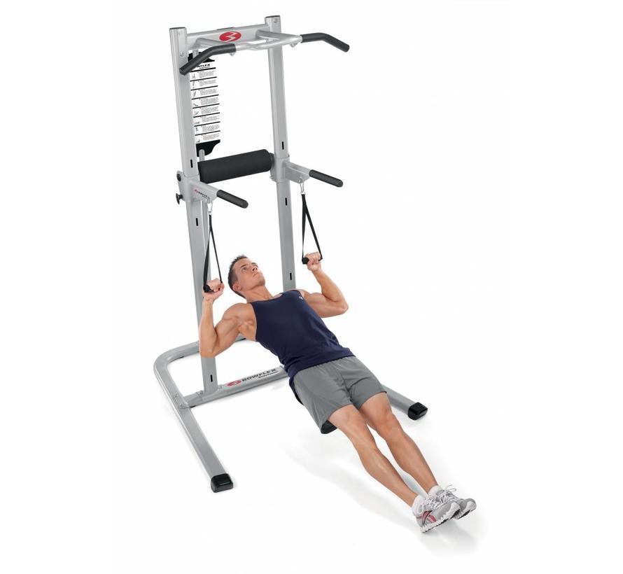 BodyTower - Met Ab Slings en dip straps - verstelbare VKR
