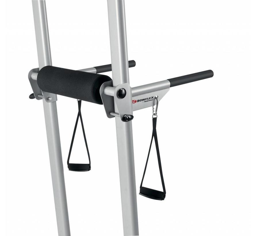 Bowflex BodyTower - Met Ab Slings en dip straps - verstelbare VKR