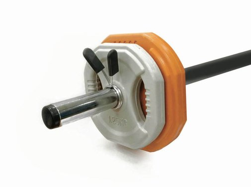 Toorx Fitness Toorx Bodypumpset - 10 kg - oranje/grijs
