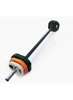 Toorx Fitness Aerobic Pump Set - 20 kg - zwart/oranje/grijs