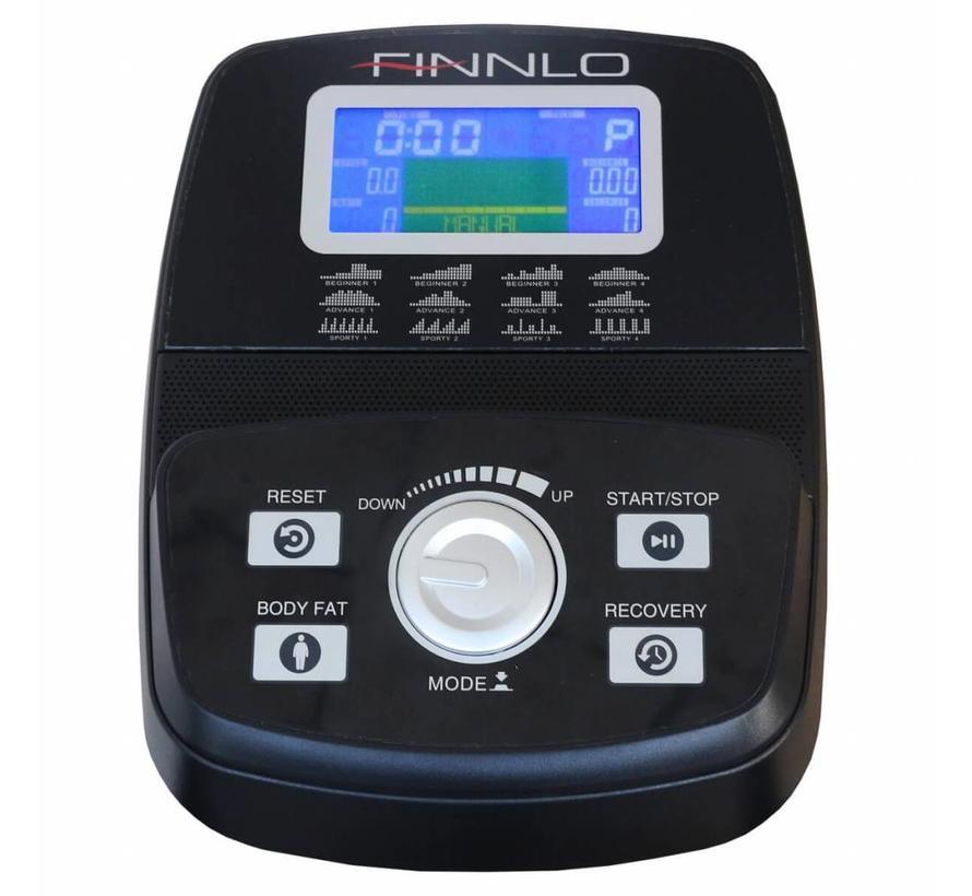 Finnlo Crossflow Crosstrainer - zeer compact - met wattage