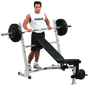 Powerline Powerline POB44X - Weight Bench - Incline/Flat/Decline