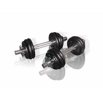 Toorx Fitness Toorx Dumbbellset 15 kg met Koffer