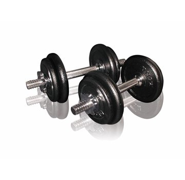 Toorx Fitness Toorx Dumbbell set 20 kg with Case