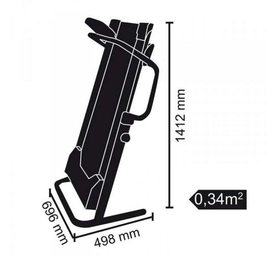 Beschadigde doos - Everfit Loopband - TFK-100-MAG - Magnetisch - 8 Weerstanden - 4 hellingshoeken