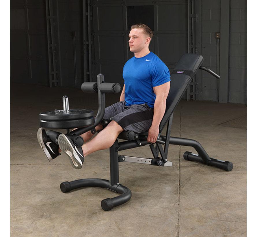 Body-Solid Olympische Leverage Flat Incline Decline Bank FID46 - met Leg Developer