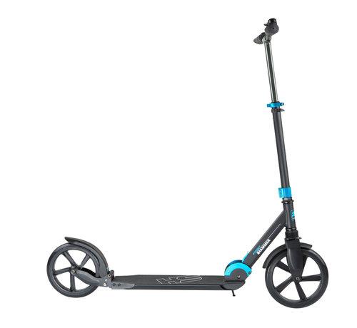 Hammer Fitness Hammer Street Scooter RX7 - Voor Volwassenen - Inklapbaar - Zwart/Blauw - met LED verlichting - 110 cm