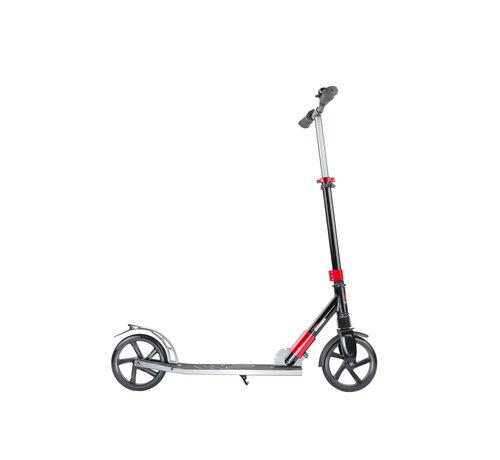 Hammer Fitness Hammer Street Scooter RX5 - Voor Kids - Inklapbaar - Zwart/Rood - met LED verlichting - 93 cm