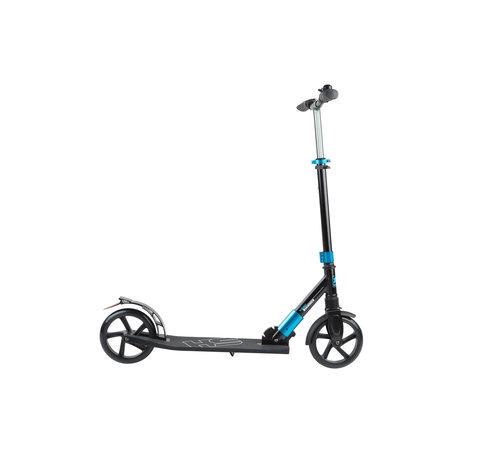Hammer Fitness Hammer Street Scooter RX5 - Voor Kids - Inklapbaar - Zwart/Blauw - met LED verlichting - 93 cm