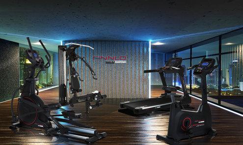 Finnlo Maximum Cardio voor fysiotherapeuten, bedrijfsfitness, hotels & personal trainers
